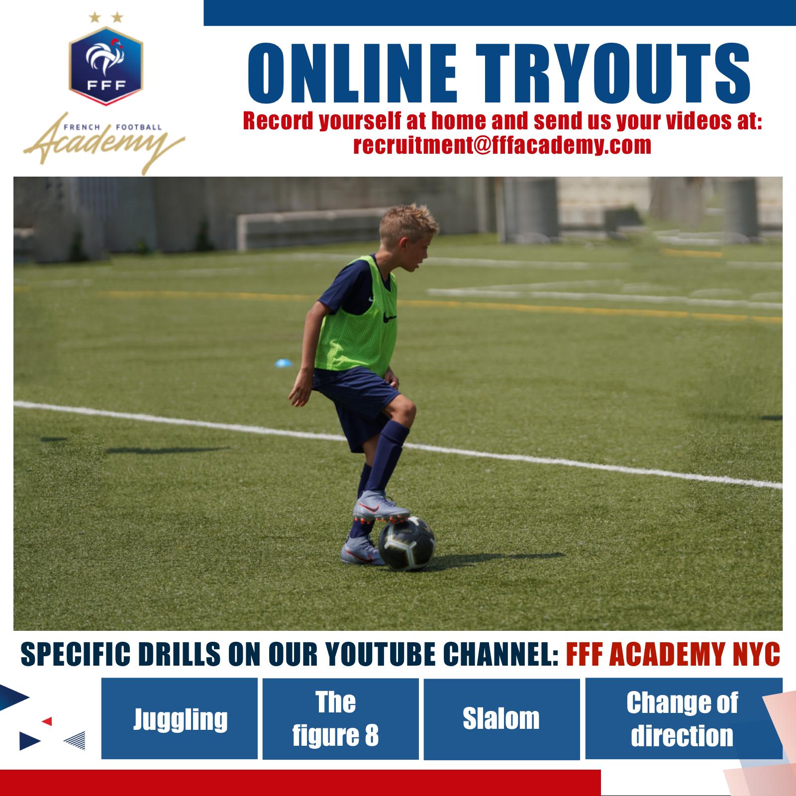 FFA - Online Tryouts